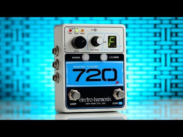 Electro-Harmonix zapowiada looper Stereo 720