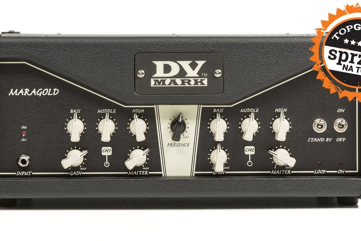 """DV Mark Maragold – test wzmacniacza gitarowego  z wyróżnieniem """"Sprzęt na Topie"""""""