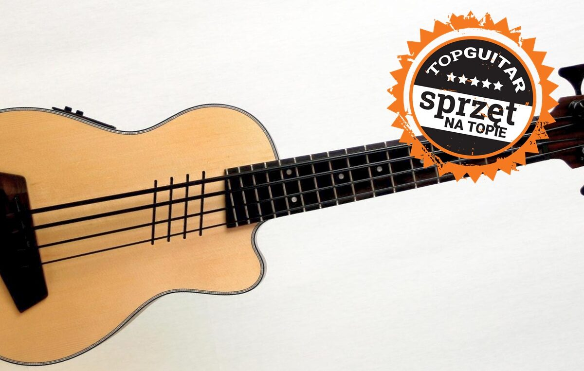 """Kala U-Bass Hutch Hutchinson Signature – test basowego ukulele z wyróżnieniem """"Sprzęt na Topie"""""""