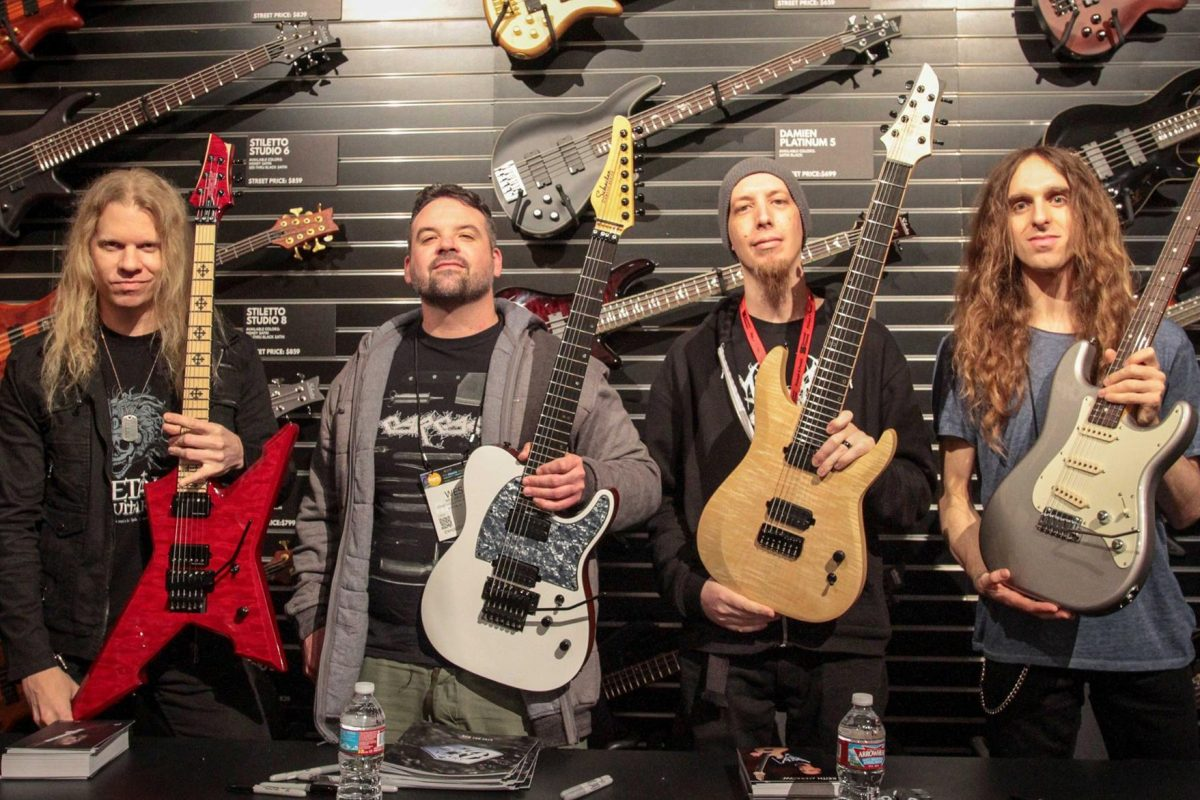 NAMM 2016: Schecter Guitar Research