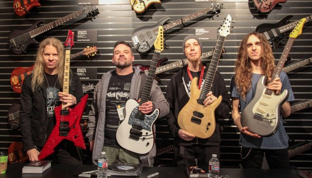 Schecter NAMM 2016 Artists