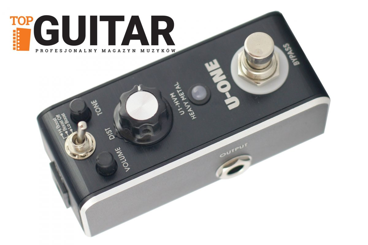 U-One U1 HVM Heavy Metal – mini-test efektu gitarowego w TopGuitar