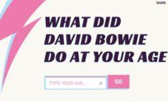 Co David Bowie robił w Twoim wieku?