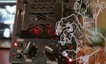 Gitarowy preamp z USB – Laney IRT-Pulse