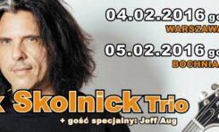 Alex Skolnick Trio wystąpi w Warszawie i w Bochni