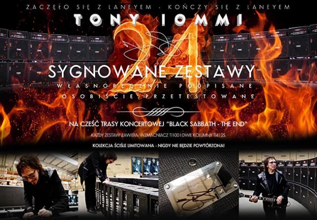Jedyny w Polsce zestaw z pamiątkową sygnaturą Tony'ego Iommiego