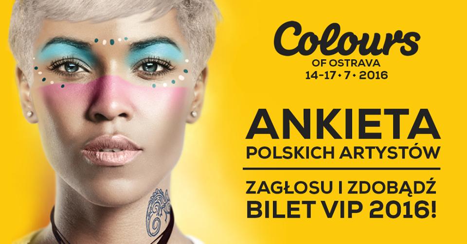 Colours of Ostrava 2016 – zdobądź bilet VIP!