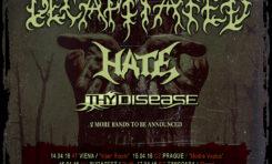 BLOOD MANTRA BALKAN TOUR 2016 – Decapitated, Hate i Thy Disease na trasie!