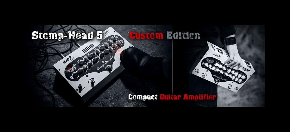 TAURUS STOMP-HEAD 5. CE – Najnowszy model wzmacniacza gitarowego w kompaktowej formie