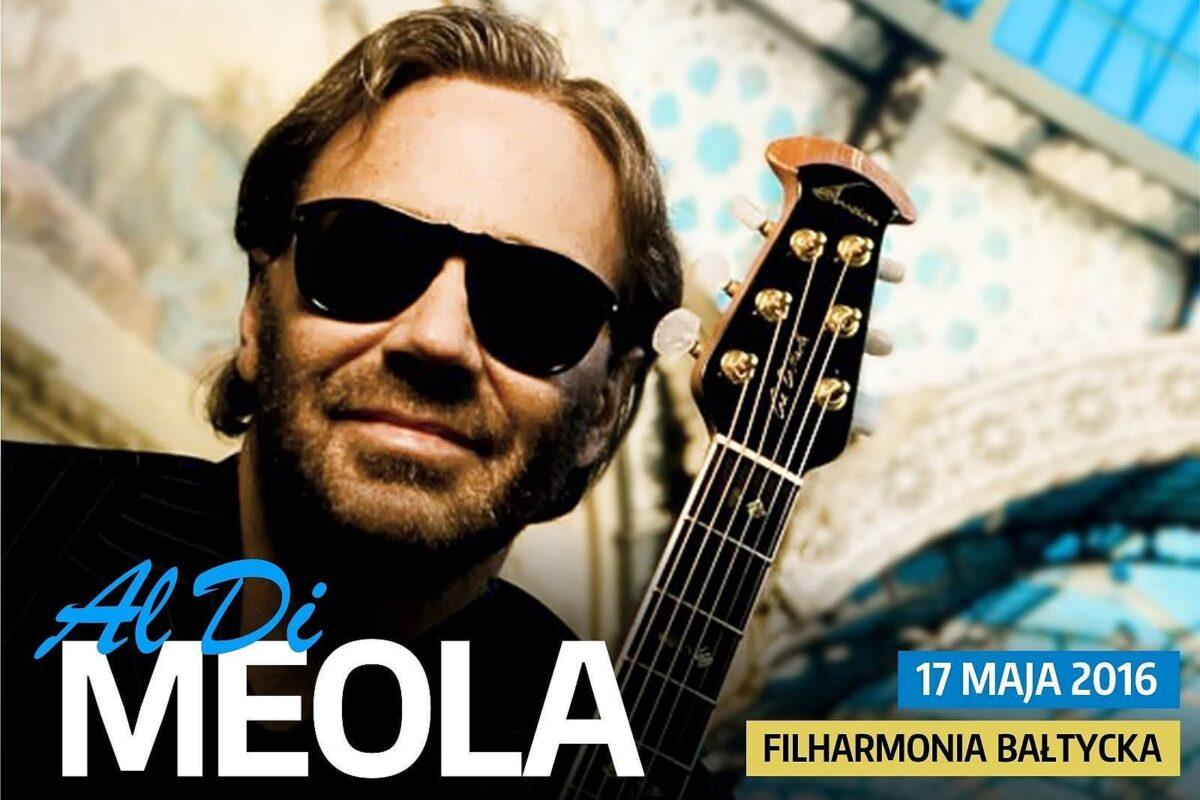 Niesamowity Al Di Meola na koncercie w Gdańsku