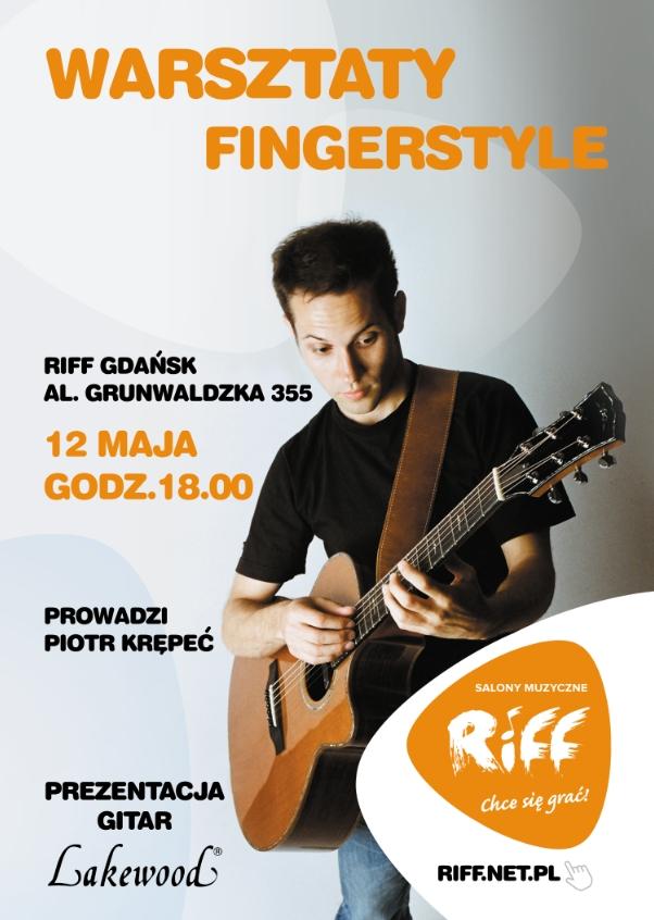 Plakat Piotr Fingerstyle