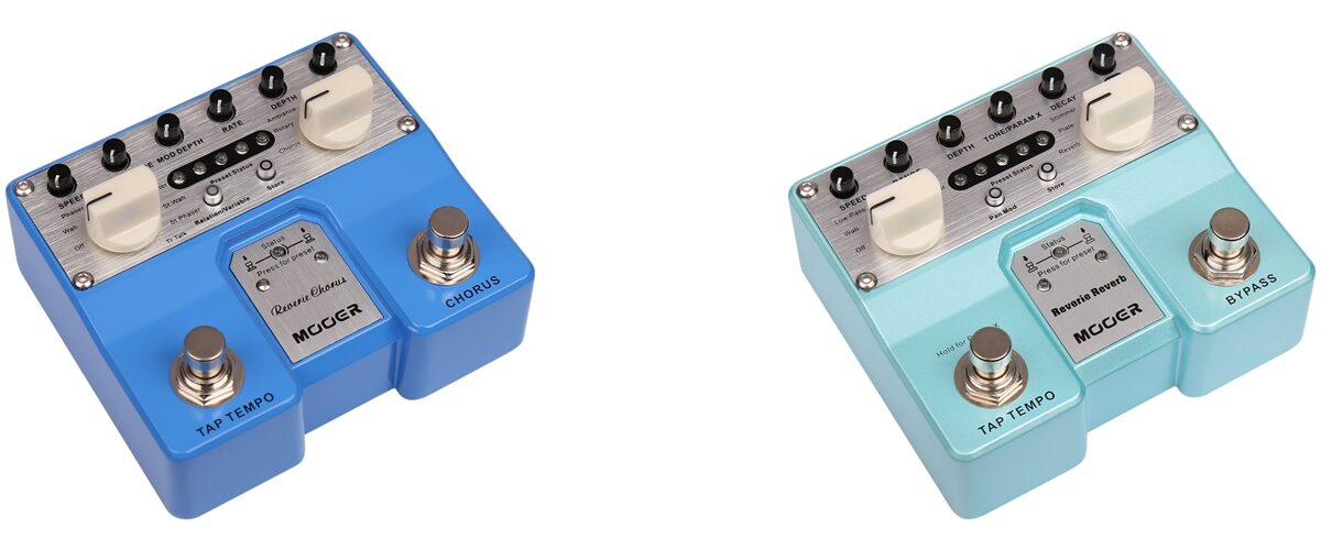 Efekty Mooer Audio Twin Pedals Reverie Chorus & Reverie Reverb