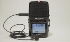 Mikrofony lavalier z rejestratorami Zoom