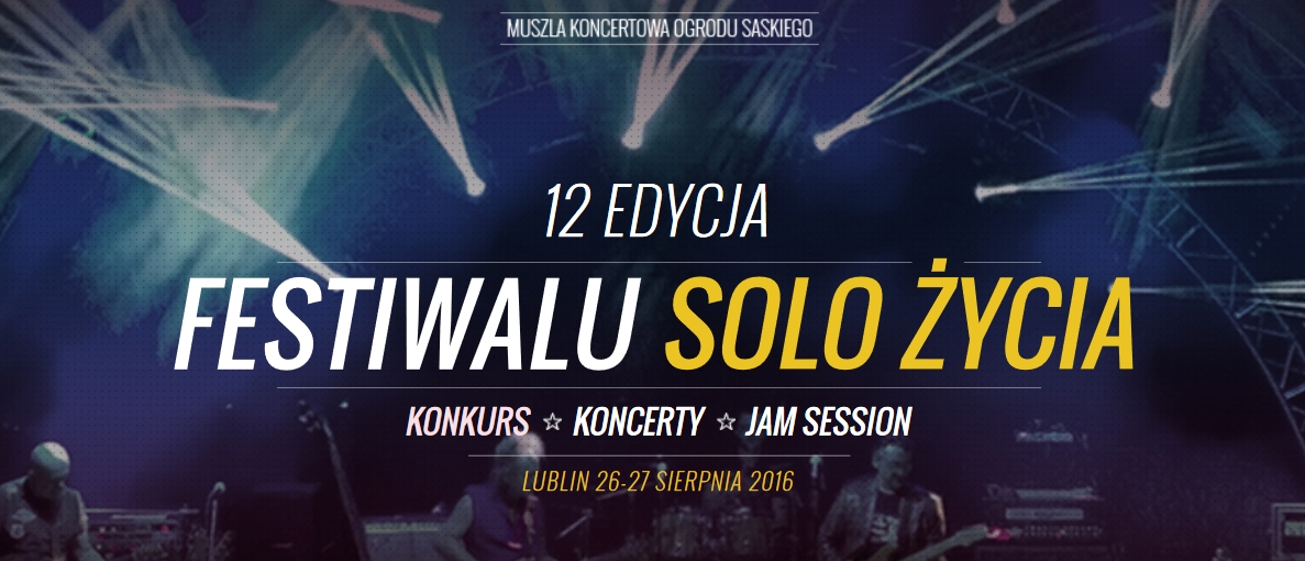 Konkurs Solo Życia 2016