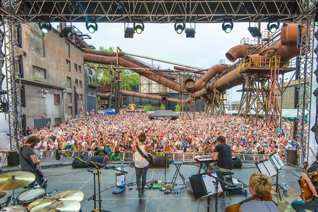 Full Moon Stage na festiwalu Colours of Ostrava 2016