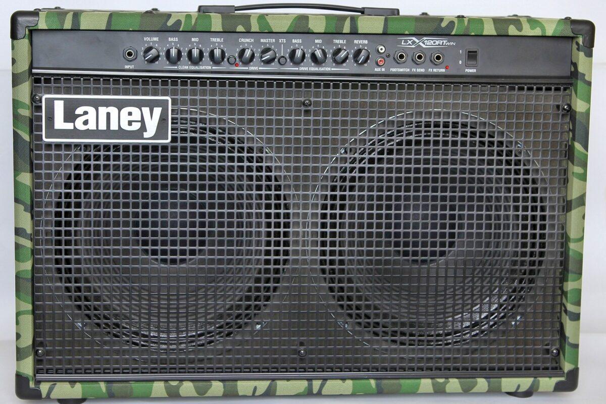 Laney LX120RT Camo – test wzmacniacza gitarowego