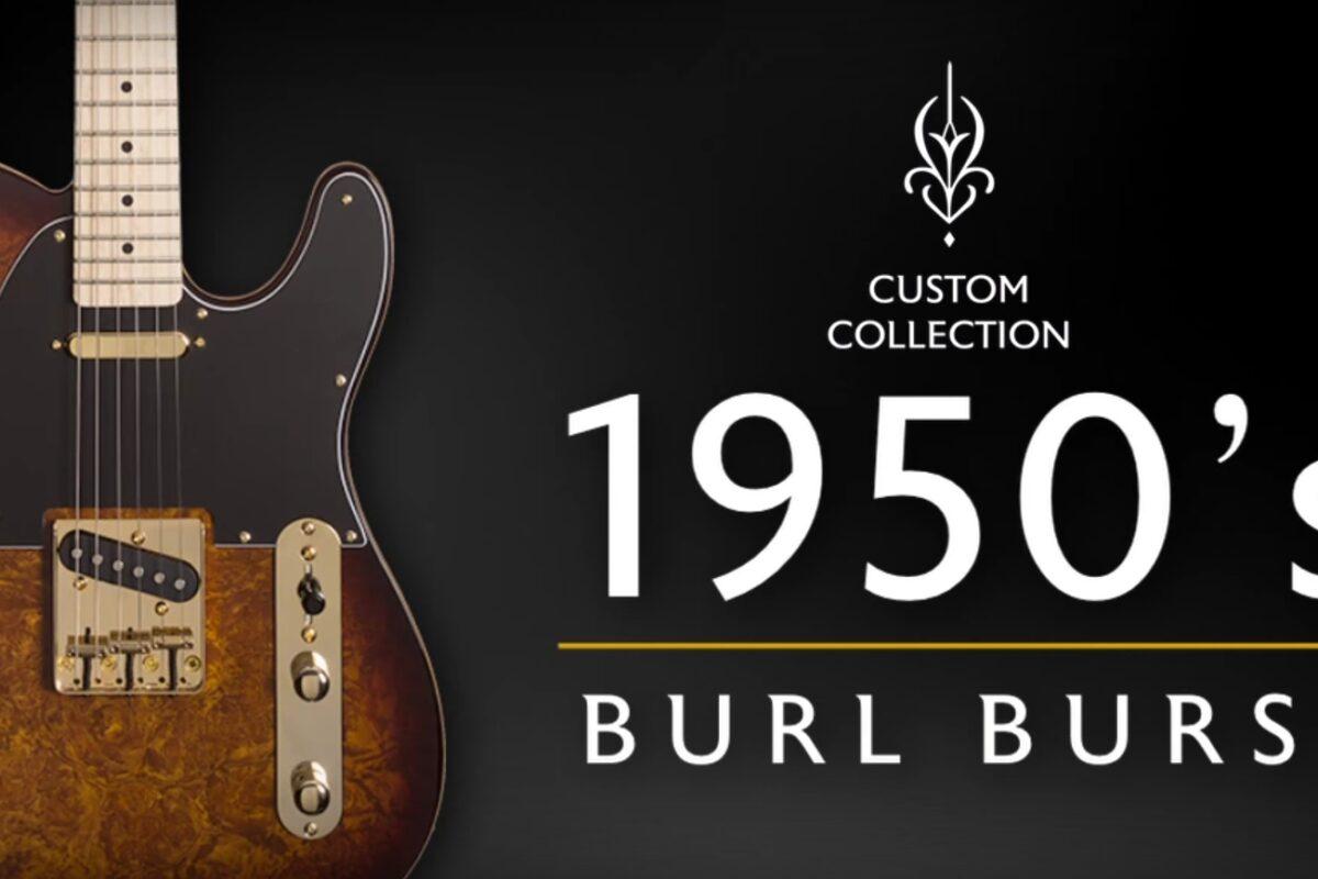 Michael Kelly Custom Collection 55 Burl Burst Edition