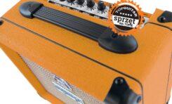 """Orange Crush 12, 20, 20RT, 35RT – test wzmacniaczy gitarowych  z wyróżnieniem """"Sprzęt na Topie"""""""