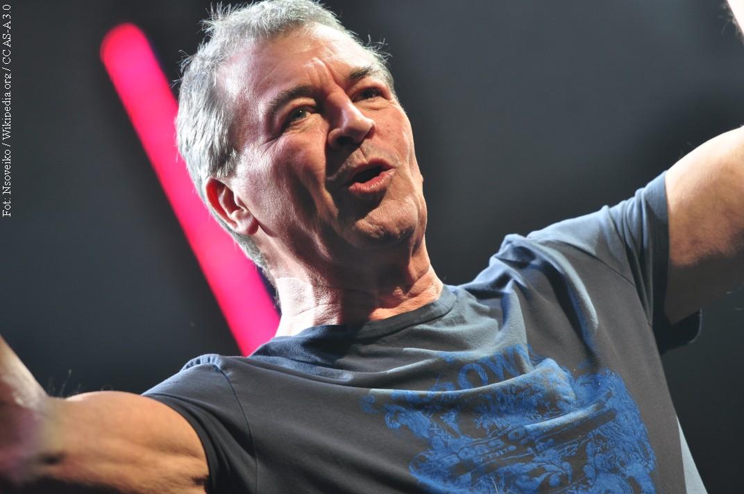 Ian Gillan w Polsce z utworami Deep Purple