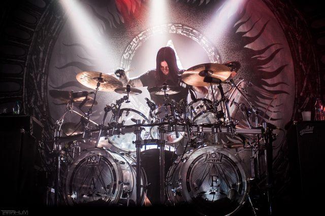 15.08.2016 - Gdansk - B90. Koncert zespolu Arch Enemy n/z Daniel Erlandsson | Fot. Karol Makurat/REPORTER