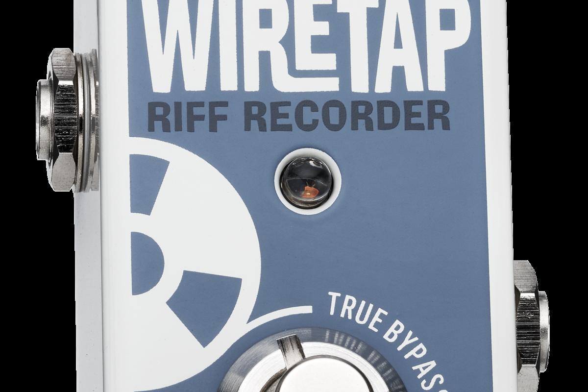 TC Electronic WireTap Riff Recorder – mini-test efektu gitarowego