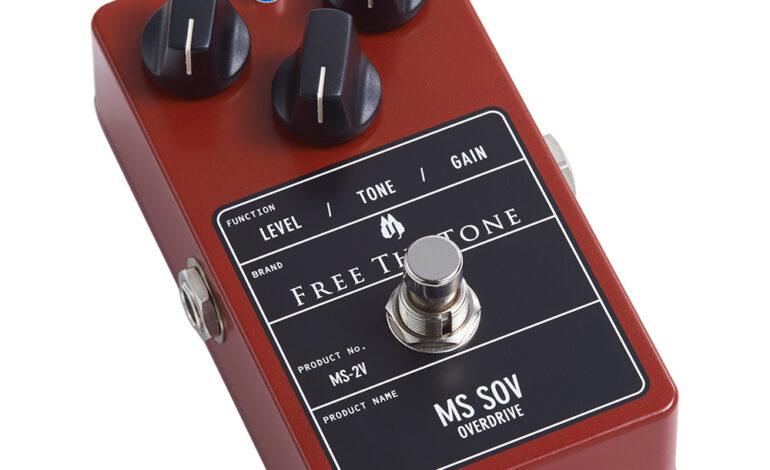 Free The Tone MS SOV-2V – mini-test efektu gitarowego w TopGuitar