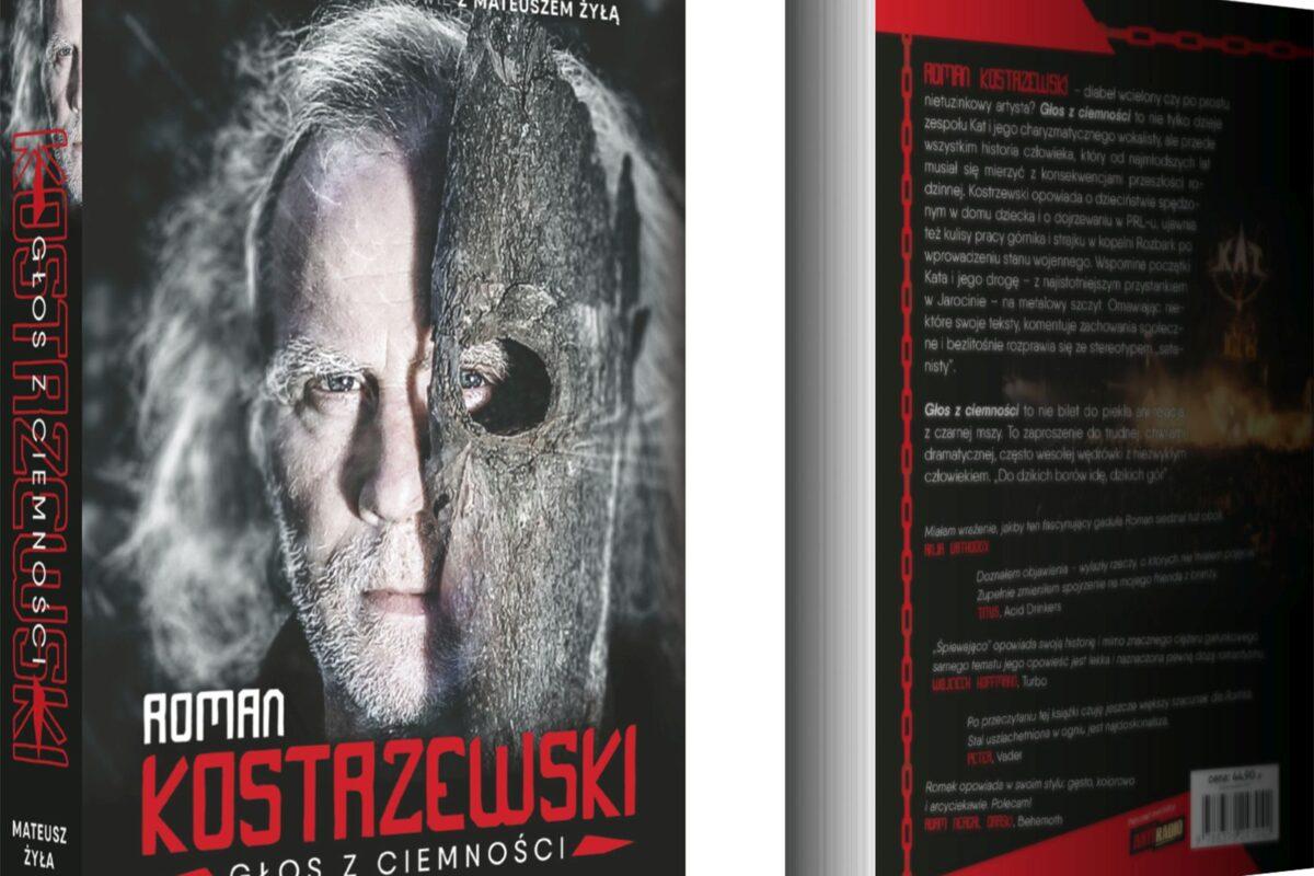 """Roman Kostrzewski – książka """"Głos z ciemności"""""""