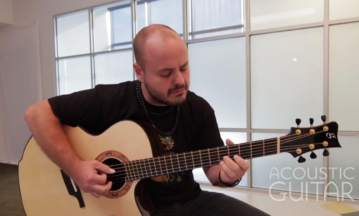 Andy McKee: gitarzysta, który zachwyca internautów wystąpi w Polsce!