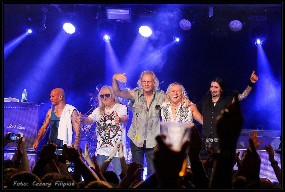 Uriah Heep już za tydzień rozpoczyna polskie tournée!