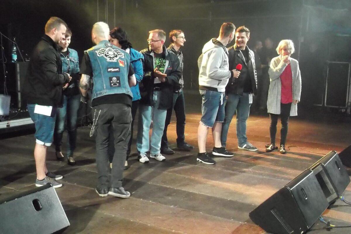 Konkurs GRAND PRIX na festiwalu rockowym w Węgorzewie