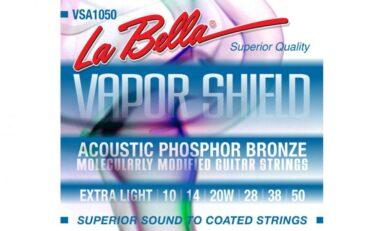 Mini-test: La Bella Vapor Shield Acoustic Phosphor Bronze