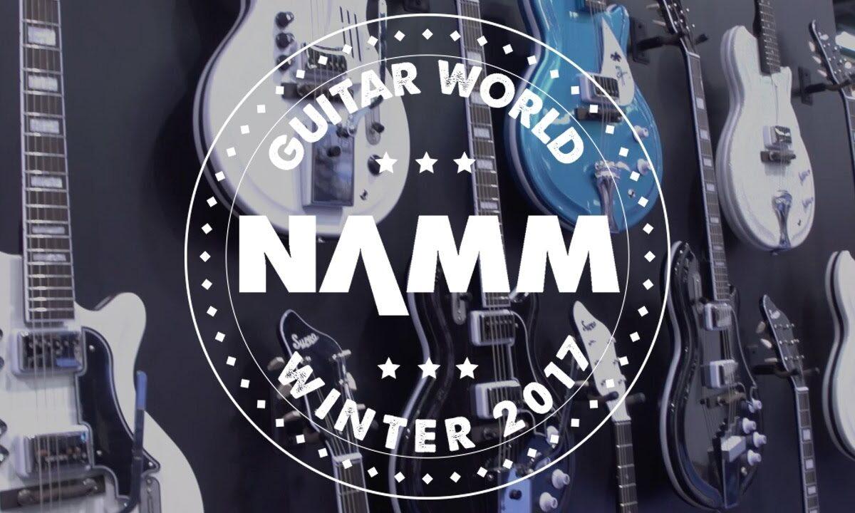 Gitary elektryczne Supro na NAMM 2017
