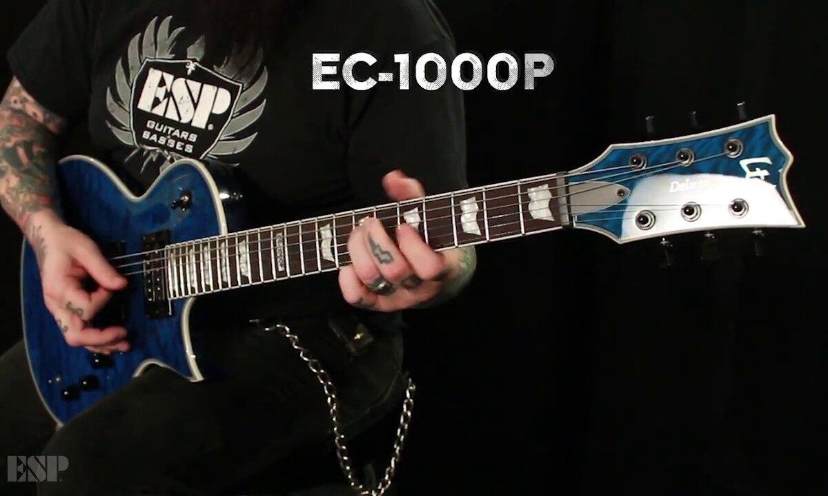 ESP LTD Deluxe EC-1000 Piezo