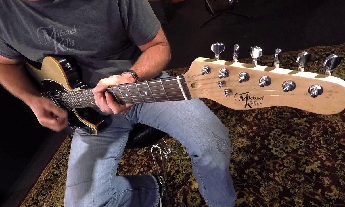 Prezentacja brzmienia gitary Michael Kelly 53DB