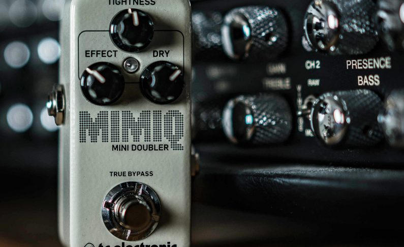 TC Electronic Mimiq Mini Doubler i HyperGravity Compressor