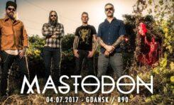Mastodon, Wolves Like Us, Proghma-C, Gdańsk, B90, 4 lipca 2017