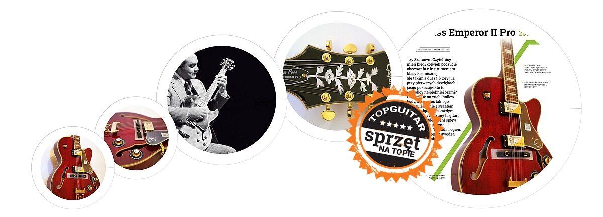 Epiphone Joe Pass Emperor II Pro – test gitary elektrycznej