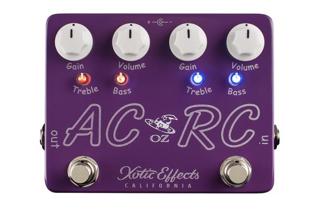 Limitowany efekt Xotic AC/RC-OZ – Oz Noy