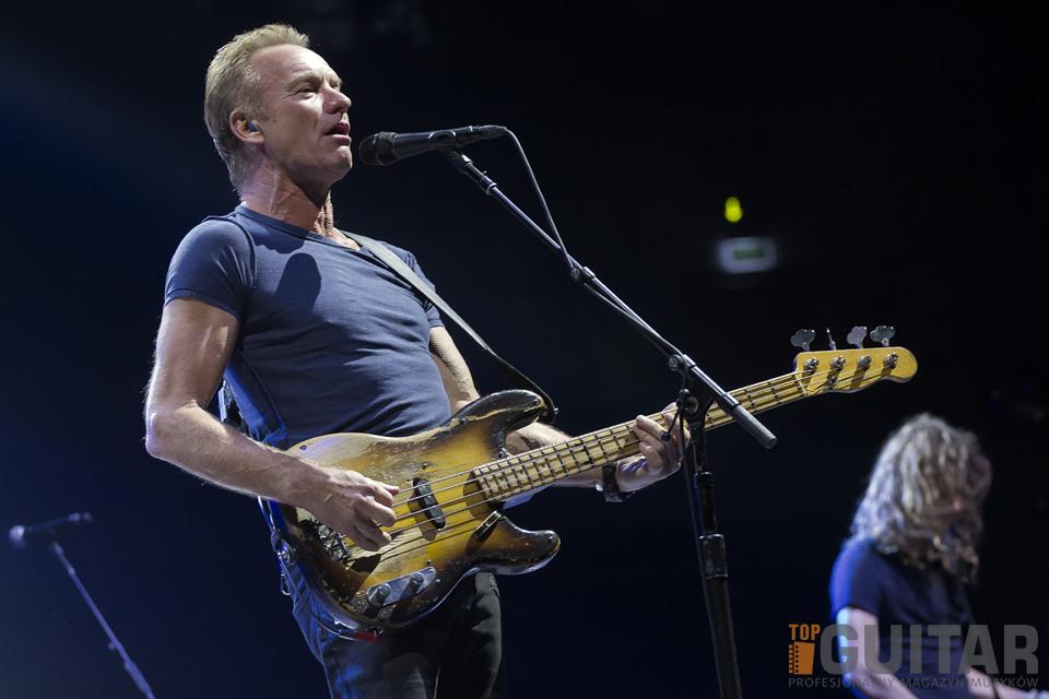 Sting wystąpił w krakowskiej Tauron Arenie