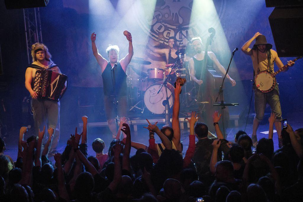 Steve'n'Seagulls zagrali w Krakowie