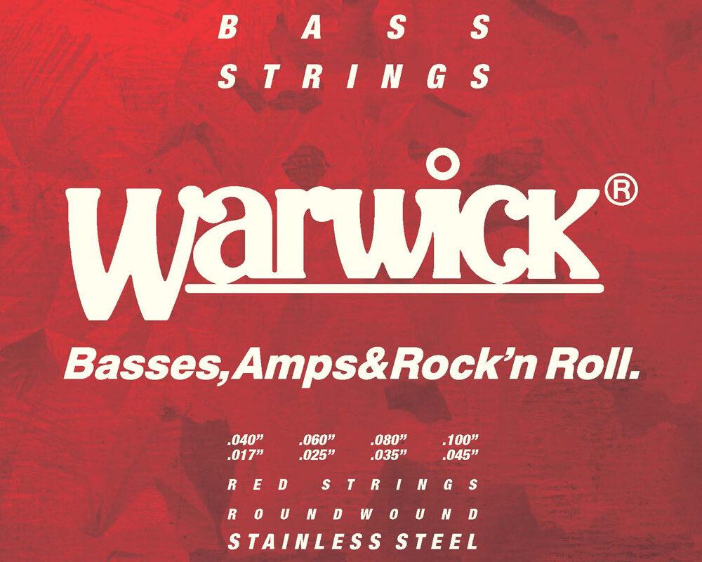 Struny Warwick Red teraz do ośmiostrunówek
