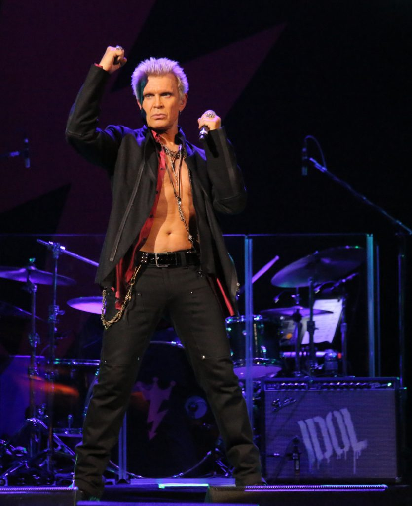 Billy Idol, fot. Edison Graff