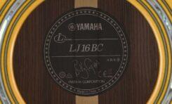 Yamaha LJ16 BC Billy Corgan Limited
