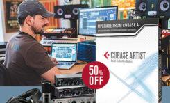 Steinberg – upgrade programu Cubase z wersji AI do Artist za 50%