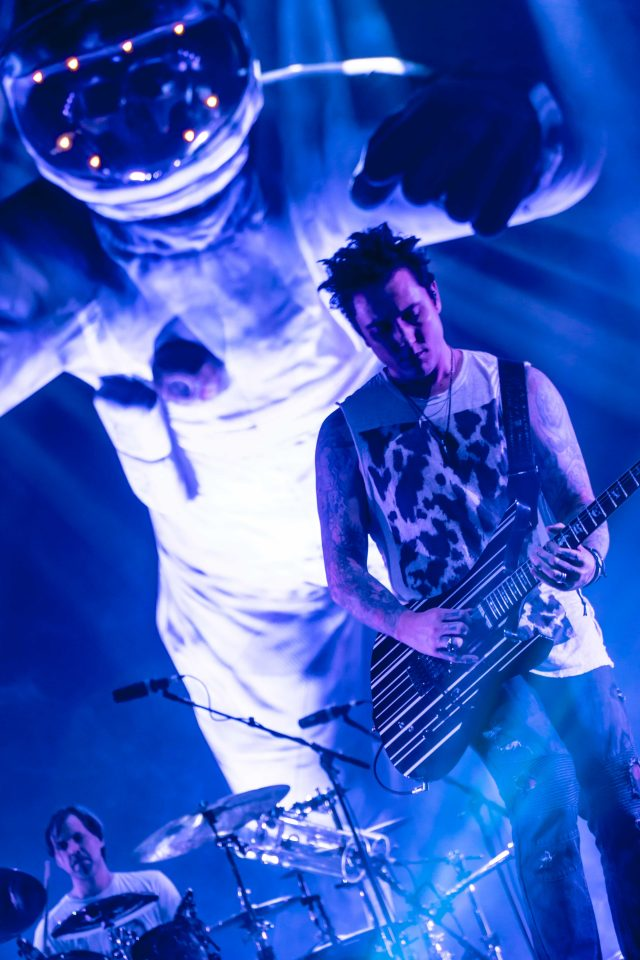 Synyster Gates, fot. Brian Spaceman