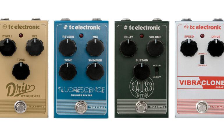 Nowe efekty gitarowe TC Electronic