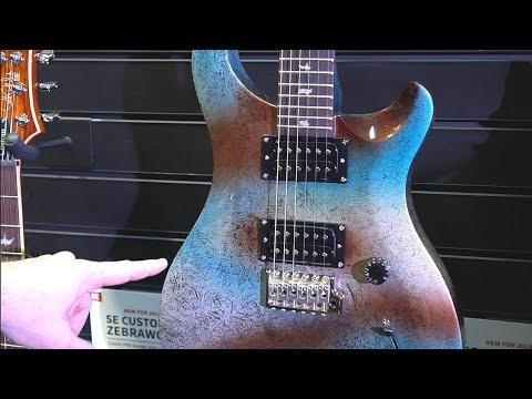 Gitary PRS na targach NAMM 2018