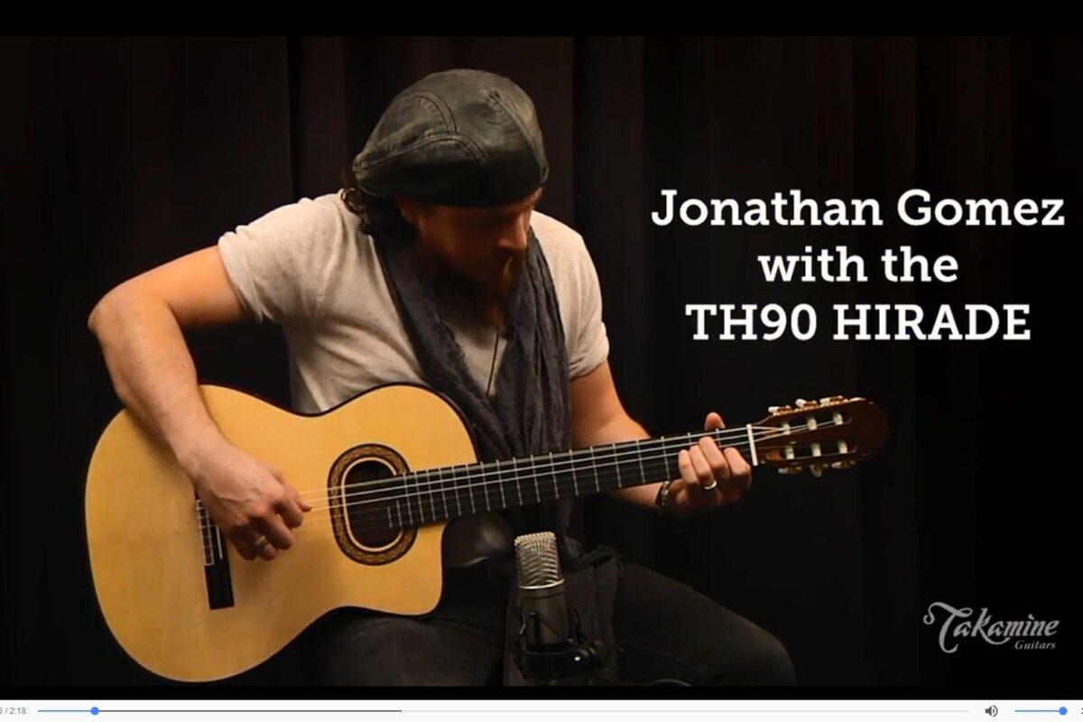 Jonathan Gomez prezentuje Takamine TH90