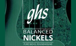 Nowe struny GHS Balanced Nickel do elektrycznej gitary basowej