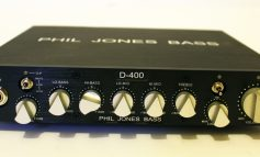 Phil Jones Bass D-400 + PJB cab 47 - TEST